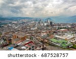 cityscape view of downtown... | Shutterstock . vector #687528757
