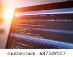 developing programming and...   Shutterstock . vector #687539557