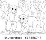 childrens coloring book cartoon