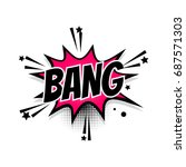 lettering bang boom star....