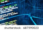 artificial intelligence and...   Shutterstock . vector #687590023