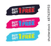 buy get 1 free tag design for...