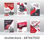 city background business book... | Shutterstock .eps vector #687667033