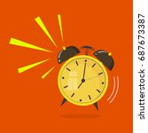 flat design. vector icon... | Shutterstock .eps vector #687673387