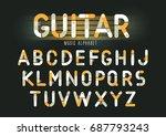 concept of vector geometric... | Shutterstock .eps vector #687793243