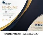 brochure flyer design template...   Shutterstock .eps vector #687869227