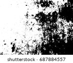 designed grunge background... | Shutterstock .eps vector #687884557