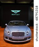 Постер, плакат: 2011 Bentley Continental GT