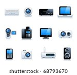 digital electrical appliance... | Shutterstock .eps vector #68793670