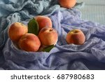 ripe and tasty and juicy... | Shutterstock . vector #687980683