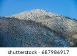 Winter Mountains Landscape....
