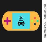car service simple vector icon. ...