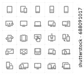 mini icon set   responsive and...