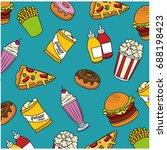 fast food design | Shutterstock .eps vector #688198423
