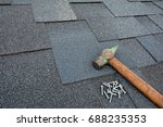 roof shingles   roofing.... | Shutterstock . vector #688235353