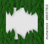 creative concept idea layout... | Shutterstock . vector #688357813