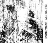 old black white background | Shutterstock . vector #688403443