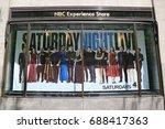 new york   july 20  2017  nbc... | Shutterstock . vector #688417363