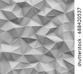 background  texture  panel  3d... | Shutterstock . vector #688420537