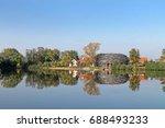 capi hnizdo    the stork s nest ... | Shutterstock . vector #688493233