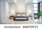 interior luxury and cozy... | Shutterstock . vector #688499473