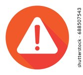error icon | Shutterstock .eps vector #688507543