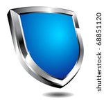 shield depicting protection | Shutterstock .eps vector #68851120