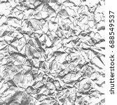 crumpled paper background... | Shutterstock .eps vector #688549537
