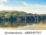 mi o river and the... | Shutterstock . vector #688549747