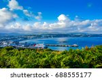city view on george town  isle... | Shutterstock . vector #688555177