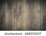 vintage style of wooden floor... | Shutterstock . vector #688593337