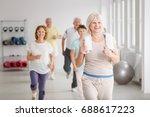 Happy Active Seniors Exercisin...