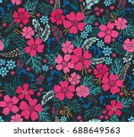 Amazing Seamless Floral Patter...