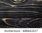 old  weather worn wood board...   Shutterstock . vector #688661017