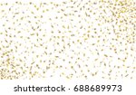 confetti isolated on white... | Shutterstock .eps vector #688689973