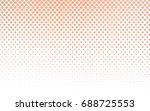 light orange vector... | Shutterstock .eps vector #688725553