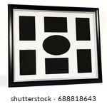 Black Decorative Photo Frame....
