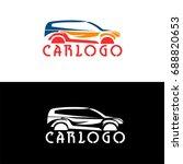 car logo for your business... | Shutterstock .eps vector #688820653
