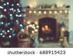 Abstract Blurred Background Of...