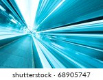 wide angle of high speed moving ... | Shutterstock . vector #68905747