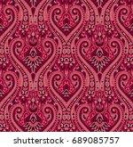 paisley seamless pattern | Shutterstock . vector #689085757