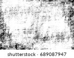 cement wall grunge template.... | Shutterstock . vector #689087947