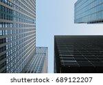 building background in tokyo | Shutterstock . vector #689122207