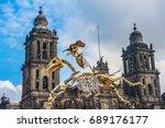 mexico city  mexico   october ... | Shutterstock . vector #689176177