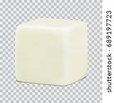 vector white empty realistic... | Shutterstock .eps vector #689197723