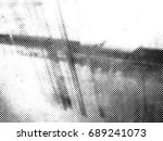 halftones background.distress... | Shutterstock .eps vector #689241073