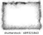 halftone dots texture...   Shutterstock .eps vector #689321863