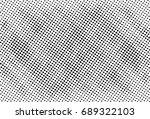 halftone dots texture... | Shutterstock .eps vector #689322103