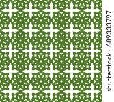 seamless pattern. modern... | Shutterstock . vector #689333797