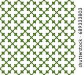seamless pattern. modern... | Shutterstock . vector #689333803